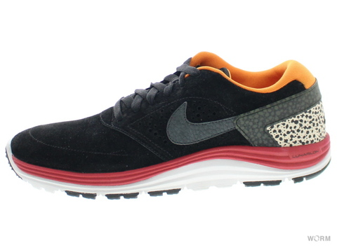 【US9】NIKE LUNAR ROD 537693-008 black/anthracite-mandarin