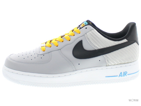 【US8.5】NIKE AIR FORCE 1 488298-014 wolf grey/black