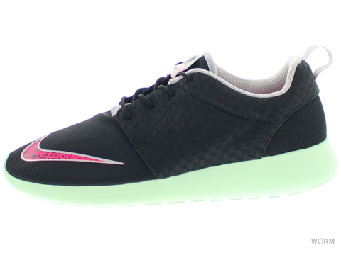 【US9】NIKE ROSHERUN FB 580573-063 black/pink flash-frsh mnt-chrm
