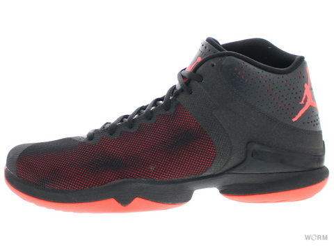 【US10.5】JORDAN SUPER.FLY 4 PO 819163-012 black/infrared 23-anthracite