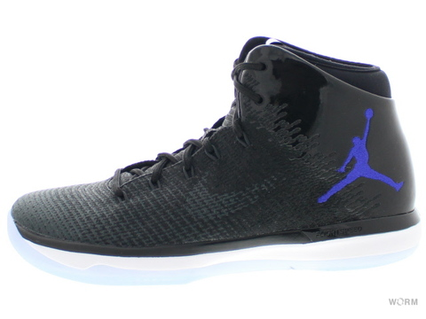 【US9.5】AIR JORDAN XXXI 845037-002 black/concord-anthracite-white