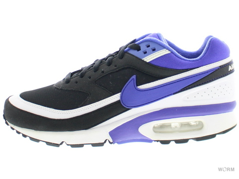 【US7.5】NIKE AIR MAX BW OG 819522-051 black/persian violet-white