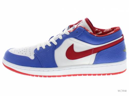 AIR JORDAN 1 RETRO LOW 309192-161 white/varsity red-vrsty royal