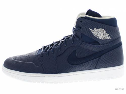 【US9】AIR JORDAN 1 RETRO HIGH NOUV 819176-407 mid nvy/lght bn-white-infrrd 2