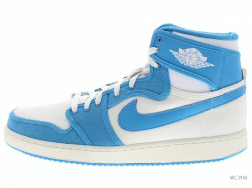 "【US11】AIR JORDAN 1 KO HIGH ""UNC"" 638471-107 white/university blue-white"