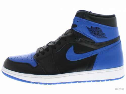 "AIR JORDAN 1 RETRO HIGH OG ""2017"" 555088-007 black/royal-white"