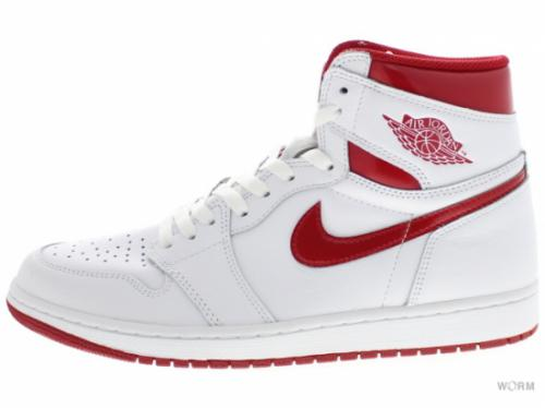 AIR JORDAN 1 RETRO HIGH OG 555088-103 white/varsity red