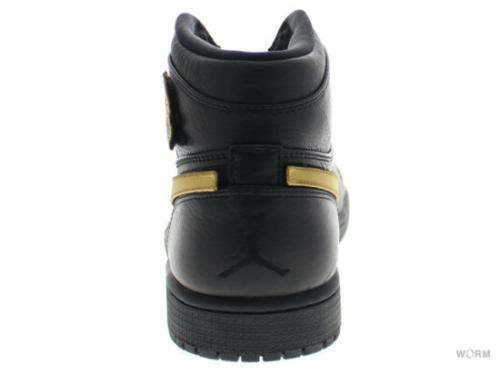 AIR JORDAN 1 RETRO HIGH BHM 908656-001 black/metallic gold-black