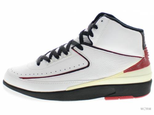 "【US8.5】AIR JORDAN 2 RETRO ""2004"" 308308-161 white/varsity red/black"