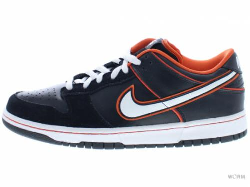 【US9.5】NIKE SB DUNK LOW PRO SB 304292-010 black/white-orange blaze