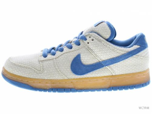 "【US8】NIKE SB DUNK LOW PRO SB ""BLUE HEMP"" 304292-741 jersey gold/cascade blue"