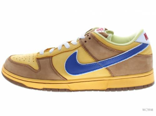 "【US11】NIKE SB DUNK LOW PREMIUM SB ""NEWCASTLE BROWN ALE"" 313170-741 gold/atlantic blue"