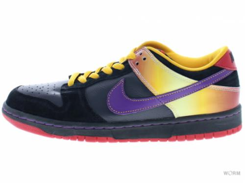 "【US8.5】NIKE DUNK LOW PRO SB ""APPETITE FOR DESTRUCTION"" 304292-052 anthracite/deep violet"
