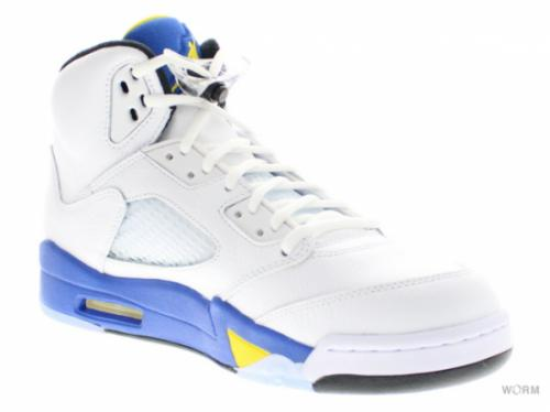 "AIR JORDAN 5 RETRO ""LANEY"" 136027-189 white/vrsty mz-vrsty ryl-blck"