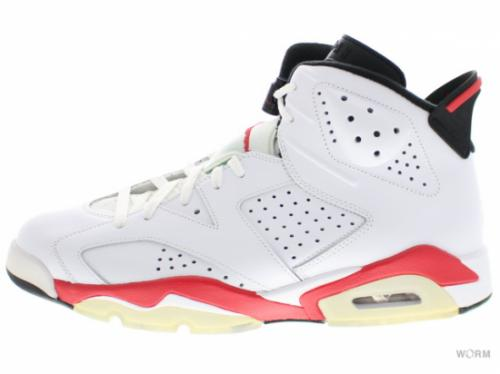 "AIR JORDAN 6 RETRO ""INFRARED PACK"" 384664-103 white/infrared-black"