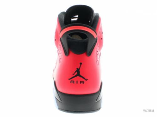 "AIR JORDAN 6 RETRO ""INFRARED 23"" 384664-623 infrared 23/black-infrared 23"