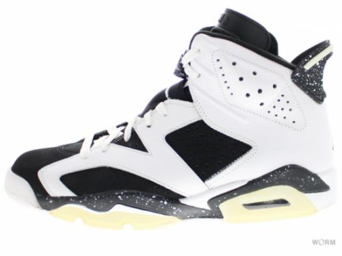 "AIR JORDAN 6 RETRO ""OREO"" 384664-101 white/black"