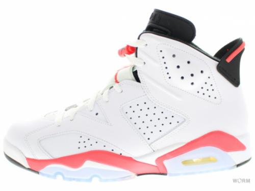"AIR JORDAN 6 RETRO ""INFRARED 2014"" 384664-123 white/infrared-black"
