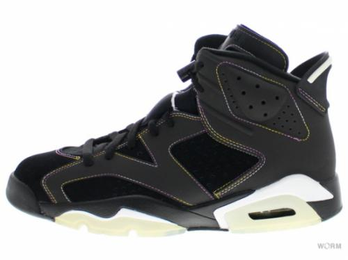 "AIR JORDAN 6 RETRO ""LAKERS"" 384664-002 blk/vrsty prpl-white-vrsty mz"