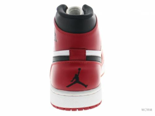 【US12】AIR JORDAN 1 RETRO HIGH 332550-163 white/varsity red-black