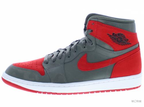 【US9.5】AIR JORDAN 1 RETRO HIGH PREM aa3993-032 river rock/black