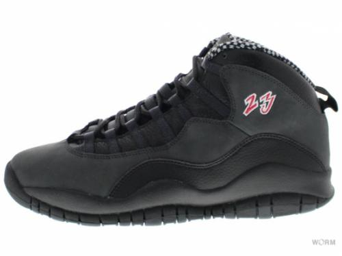 【US10】AIR JORDAN 10 RETRO CDP 310805-061 black/dark shadow