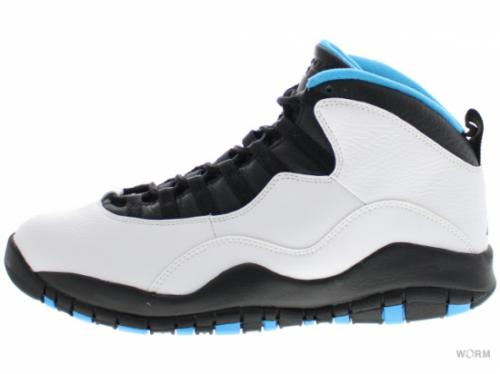 "AIR JORDAN RETRO 10 ""POWDER BLUE"" 310805-106 white/dk powder blue-black"