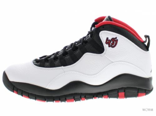 "AIR JORDAN RETRO 10 ""DOUBLE NICKEL"" 310805-102 white/black-true red"