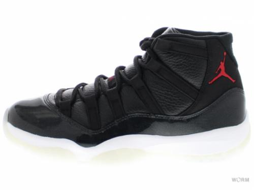 "AIR JORDAN 11 RETRO ""72-10"" 378037-002 black/gym red-white-anthracite"