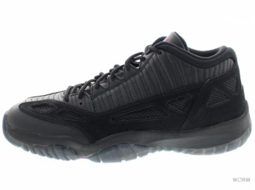 AIR JORDAN 11 RETRO LOW 306008-003 black/true red