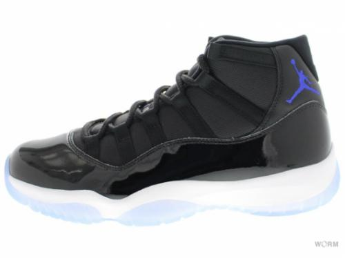 "AIR JORDAN 11 RETRO ""SPACE JAM 2016"" 378037-003 black/concord-white"