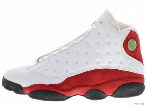 "【US11】AIR JORDAN 13 RETRO ""2010"" 414571-101 white/black-varsity red"