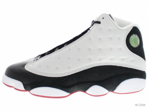 "AIR JORDAN RETRO 13 ""HE GOT GAME"" 309259-104 white/black-true red"