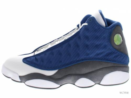 AIR JORDAN 13 RETRO 414571-401 frnch bl/unvrsty bl-flnt gry-w
