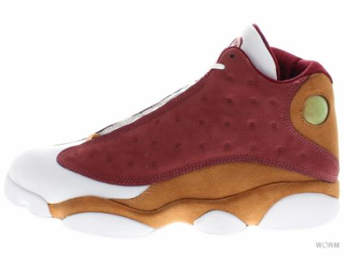 "【US10】AIR JORDAN RETRO 13 PREMIO ""bin23"" 417212-601 team red/desert clay-white"