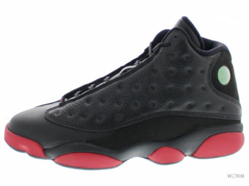"【US13】AIR JORDAN 13 RETRO ""DIRTY BRED"" 414571-003 black/gym red-black"