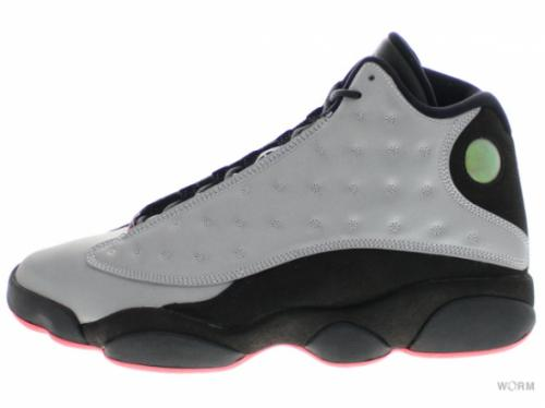 "【US9】AIR JORDAN 13 RETRO LOW PRM ""INFRARED 23"" 696298-023 reflect silver/infrrd 23-blck"