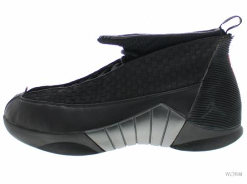 "【US10.5】AIR JORDAN XV ""1999"" 136029-061 black/varsity red"