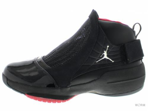 【US7.5】AIR JORDAN 19 CDP 332549-001 black/varsity red