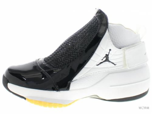"【US9】AIR JORDAN 19 ""WEST COAST"" 307546-002 black/black-met gold-white"