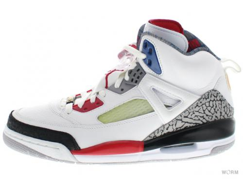 JORDAN SPIZ'IKE 315371-165 white/fire red-black