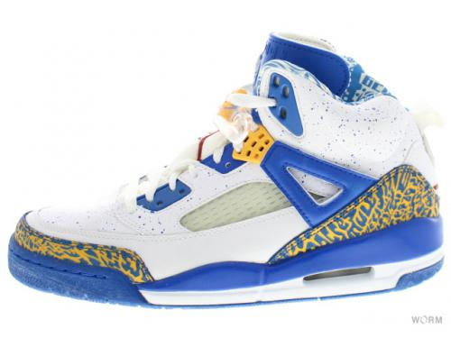"【US9】JORDAN SPIZ'IKE ""DO THE RIGHT THING"" 315371-162 white/vrsty red-pr gld-argn bl"