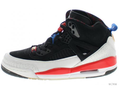 【US8.5】JORDAN SPIZIKE 315371-002 black/new blue-white-infrared