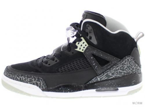 【US9.5】JORDAN SPIZIKE 315371-004 black/cool grey-gry mist-white
