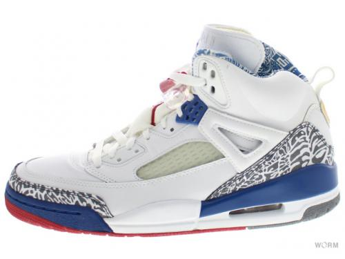 JORDAN SPIZ'IKE 315371-163 white/varsity red-true blue