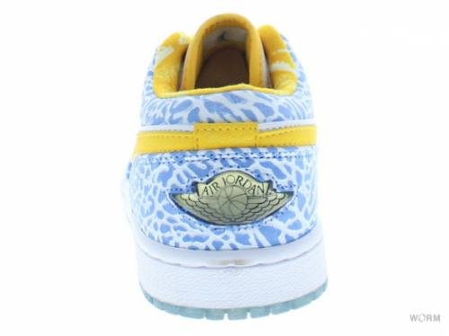 【US8】AIR JORDAN 1 RETRO LOW 309192-172 white/varsity maize-university blue