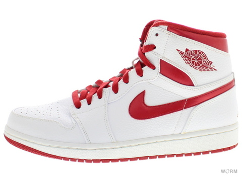 "【US9】AIR JORDAN 1 RETRO HIGH ""DO THE RIGHT THING"" 332550-161 white/varsity red"