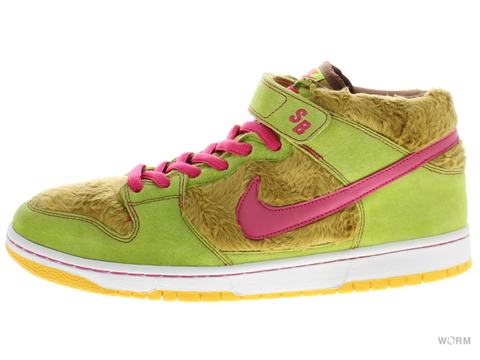 "NIKE SB DUNK MID PREMIUM SB ""MAMA BEARS"" 314381-761 light umber/watermelon"