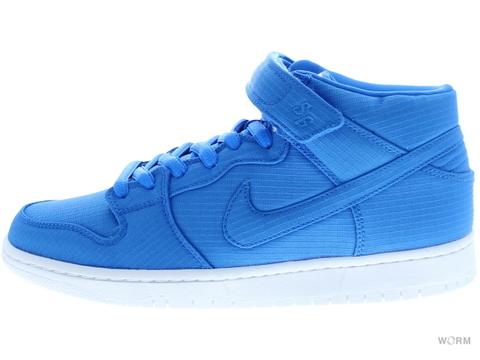 【US9】NIKE SB DUNK MID PRO SB 314383-441 photo blue/photo blue-white
