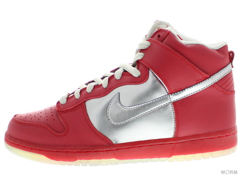 049e18cb99 coupon code for nike dunk sb high top men shoes all red silver 80709 452d9   50% off us9.5nike sb dunk high premium sb mork mindy 313171 002 chrome
